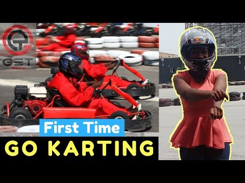 First Time Go Karting - Get Arena | Top Places To Visit in Lagos