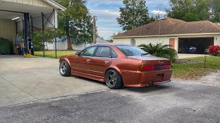 homepage tile video photo for K-Swapped RHD Cefiro. It's all coming together (major progress)