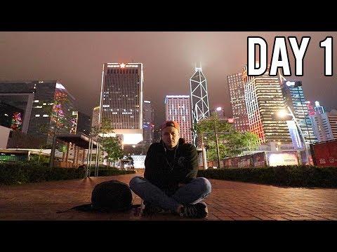 HONG KONG WITH NO MONEY - DAY 1