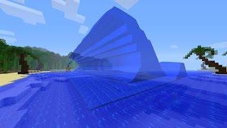COMO FAZER UM TSUNAMI NO MINECRAFT PE 1.9.0.3 SEM MODS ! Tsunami Realista Minecraft