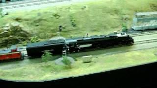 HO Scale Union Pacific 4-8-8-4 Big Boy