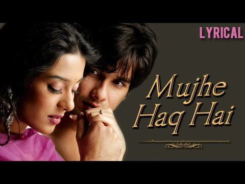 Mujhe Haq Hai Full Song With Lyrics | Vivah | Udit Narayan & Shreya Ghosal