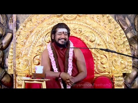 Superpower of a New Species: Nithyananda Gives Initiation to Instantly Answer Any Question