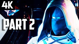 DESTINY 2 Gameplay Part 2 - DESTINY 2 4K Gameplay Walkthrough Strike 1 (PS4 PRO Beta)