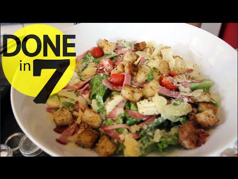 Caesar Salad - Done In 7