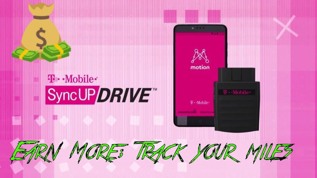 t mobile syncup drive track your miles wifi hotspot earn more