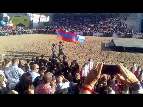 Армяне 24.04.2015 г., Аргентина