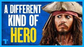Captain Jack Sparrow, Radical Leading Man - Pirates of the Caribbean