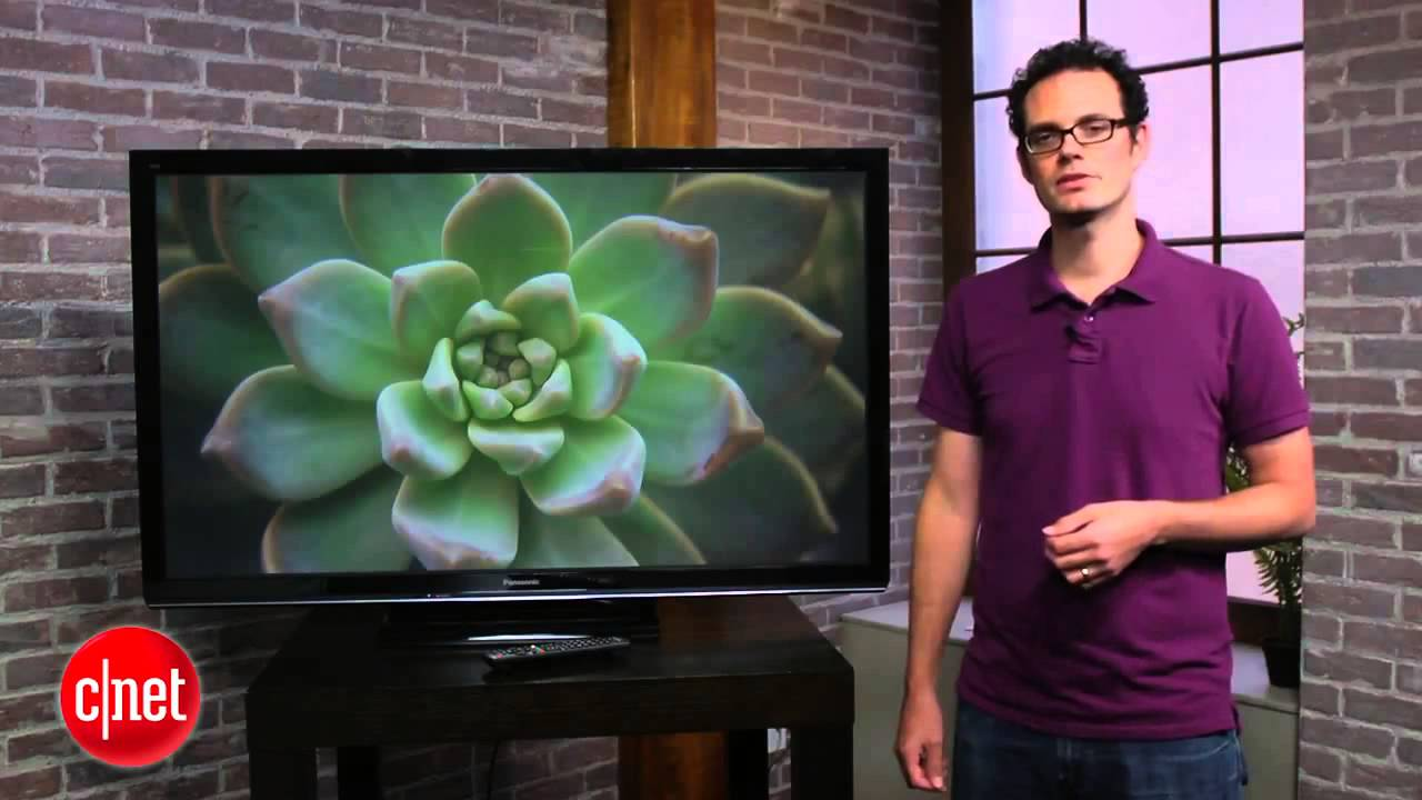 The Panasonic TC P50U50 dumb plasma TV is a smart buy First Look - YouTube