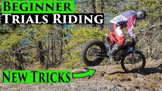 Beginner Trials Bike Riding Vlog Ep 20 | Learning New Tricks Gas Gas TXT 280