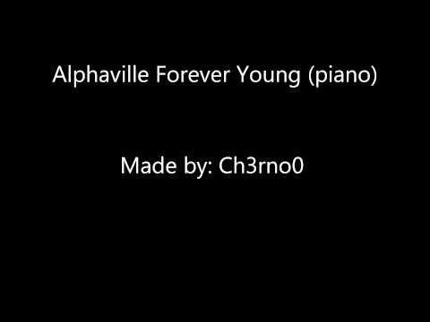 Alphaville - forever young (piano)