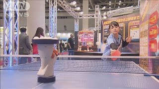 東京おもちゃショー開幕 「五輪」種目の体感商品も(19/06/13)