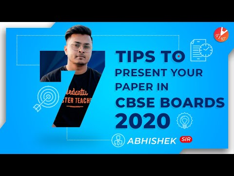 How To Present Answers In CBSE ICSE Class 10 And 12 Board Exam 2020 | Toppers Answer Sheet Exam Tips