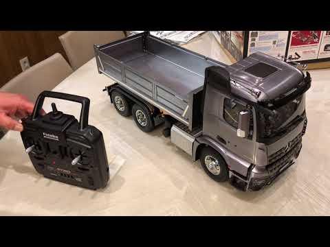 [키덜트 추천] 실제 벤츠 트럭 움직임과 소리 그대로 재현한 RC트럭 '아록스(Arocs)'