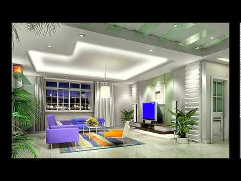 POP DESIGNS FOR LIVING ROOM CEILING - YouTube
