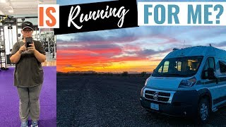 Living in an RV Staying Healthy and Getting Fit as a Digital Nomad in a Camper Van
