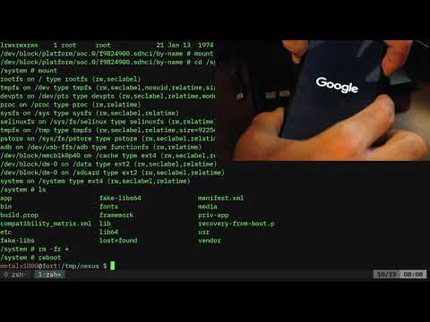 03   Android Flashing The System Partition With Fastboot