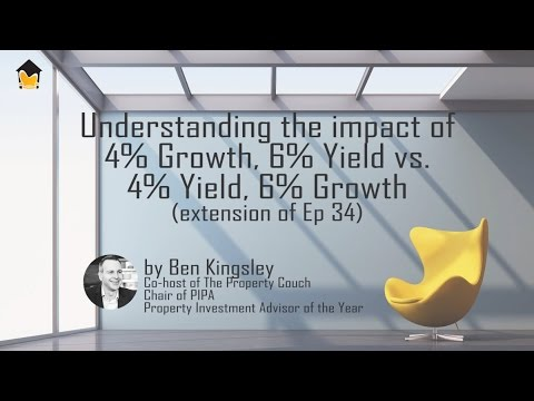 Case Demonstration: 4% Growth and 6% Yield vs. 6% Growth and 4% Yield - by Ben Kingsley