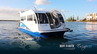 Boat A Home Feature | Trailerable Houseboat | Feb 2017