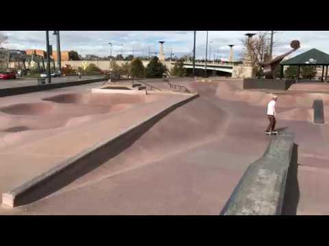 DENVER ,CO Skatepark 4K UHD Tour!