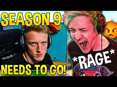 Tfue & Ninja HATE Season 9 and Explain WHY Changes MUST HAPPEN! - Fortnite Moments