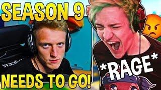 Tfue & Ninja HATE Season 9 and Explain WHY Changes MUST HAPPEN! - Fortnite Moments