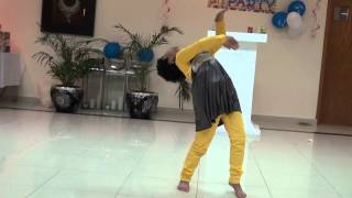 Divya Dance, Saree Ke Fall Sa   Hindi Song, Saudi Arabia