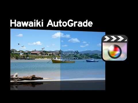 Hawaiki AutoGrade Tutorial