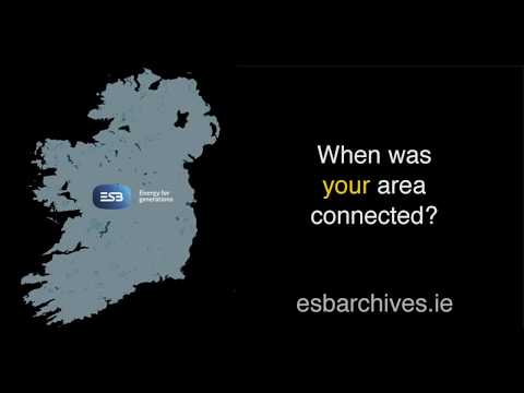 When was your area connected to ESB grid