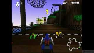 Lego Racers PC Gameplay