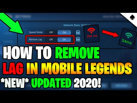 *UPDATE* HOW TO FIX LAG IN ML - MOBILE LEGENDS | 2020