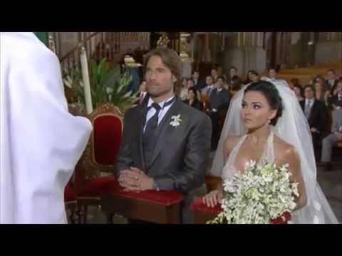 "Sebastian Rulli y Angelique Boyer en ""Teresa"" - capitulo 63"