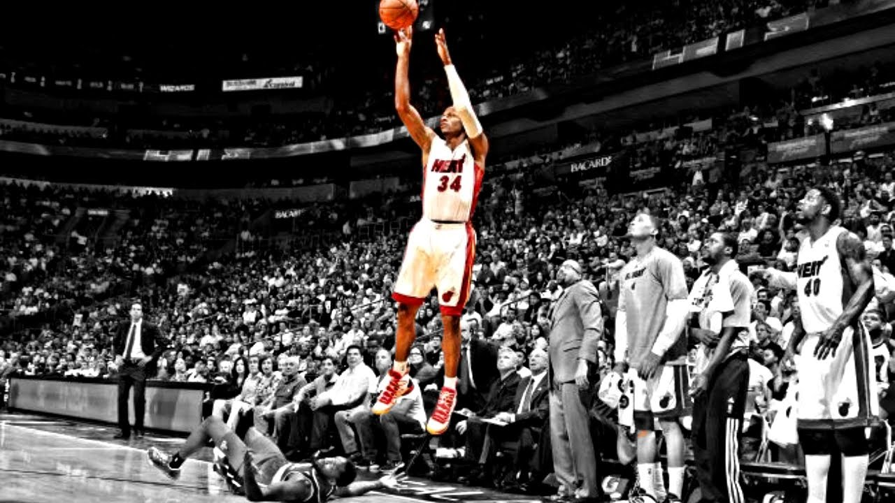 ray allen shooting form breakdown youtube