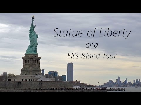 NEW YORK CITY │ Statue of Liberty and Ellis Island HD Tour.