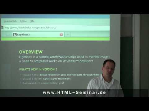 Bildergalerie Erstellen Mit HTML - Lightbox 2 Tutorial (Teil 4 Von 6)