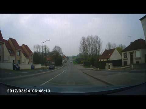 Driving in France 2017    Village of Samer   YouTube