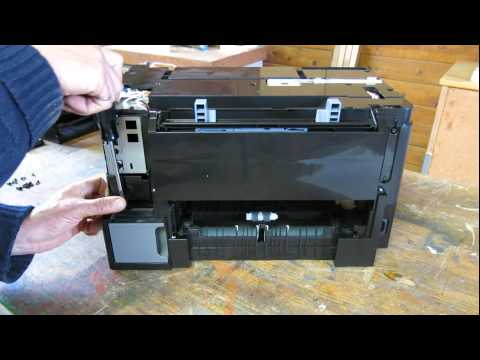 epson printer WP-4020 ink leak problem - disassembly