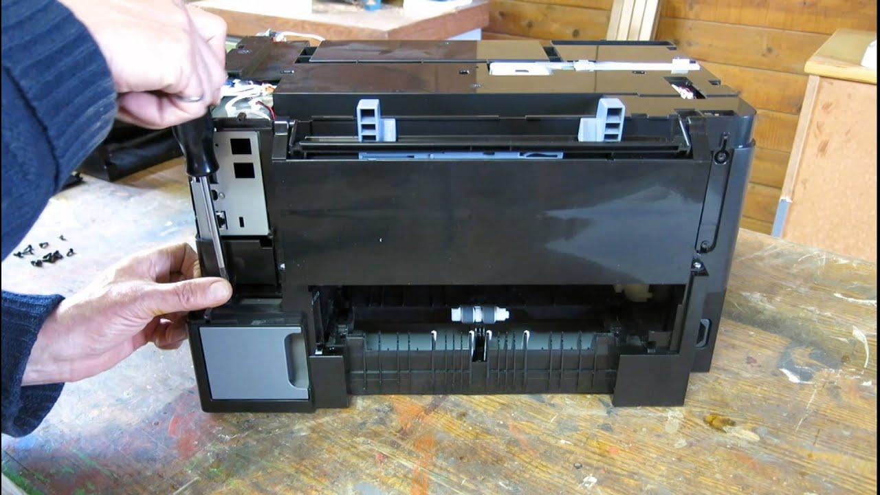 Epson Printer Wp 4020 Ink Leak Problem Disassembly Youtube