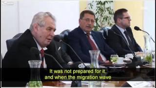Projev prezidenta M Zemana 12 2 2016 ktery nam ceska masmedia zamlcela