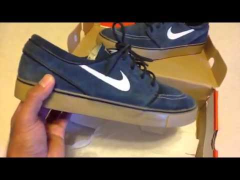 Nike sb Stefan janoski obsidian gum