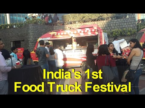 Indias 1st Food Truck Festival