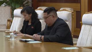 С.Лавров и Ким Чен Ын