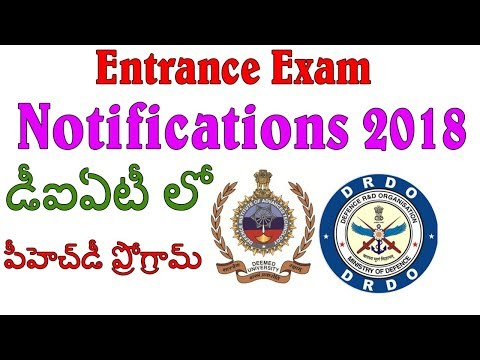 Defence Institute of Advanced Technology, DIAT, Pune || Entrance Exam 2018||By IndiaJobs Careers