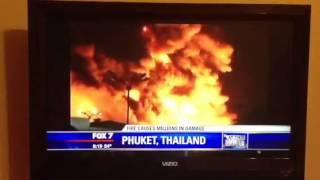 News Reporter Mispronounced Phuket Thailand