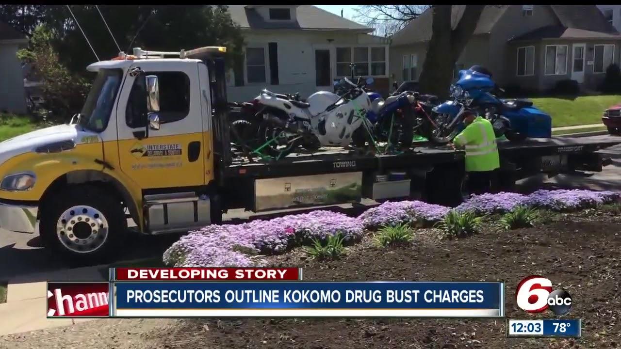 Federal agents raid homes, make multiple arrests during drug busts across  Kokomo