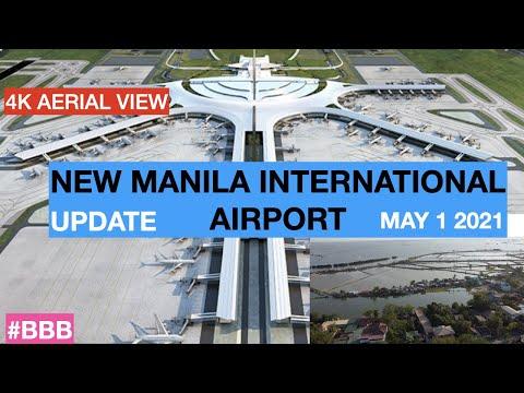 NEW MANILA INTERNATIONAL AIRPORT - UPDATE  MAY 1 2021