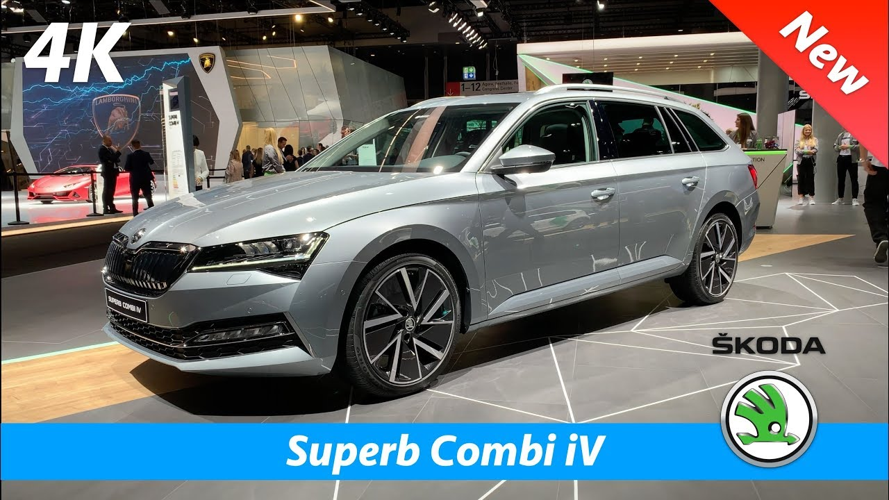 Skoda Superb Combi Iv 2020 Plug In Hybrid First Look In 4k