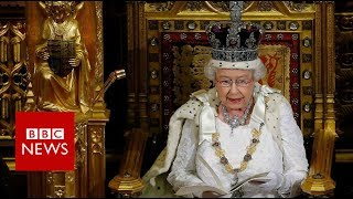 Why will this year's Queen's Speech look different from usual?   BBC News