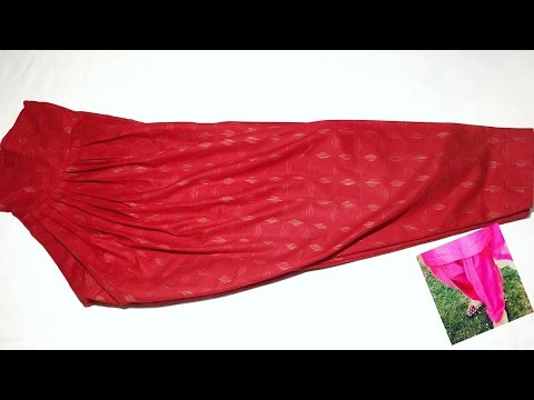 Narrow salwar stitching simple and easy method