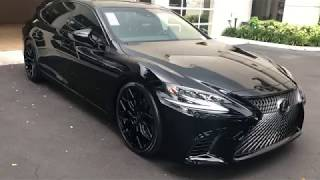 Blacked out 2018 Lexus LS 500 by Lexus of Tampa Bay